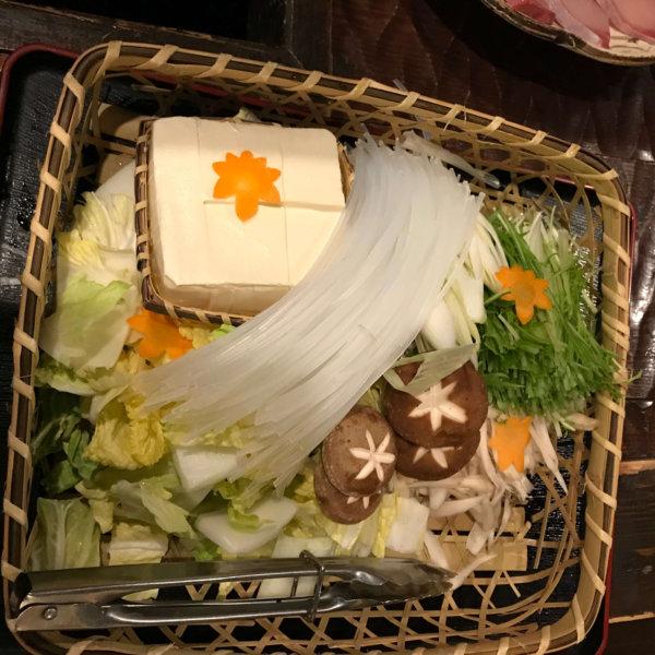 ブリしゃぶ 野菜 豆腐