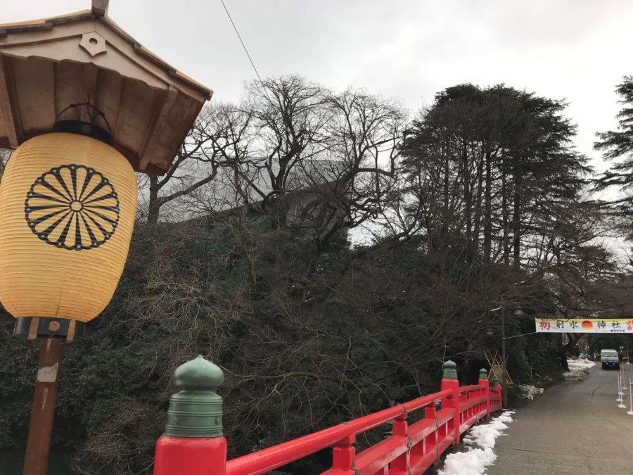 高岡城入口