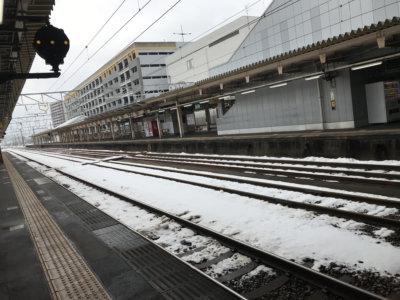 高岡駅ホーム