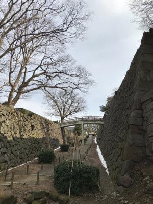 金沢城内 石垣