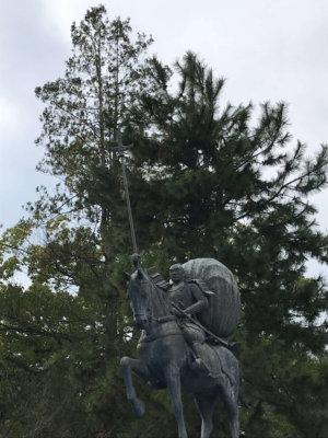 前田利家公像