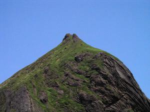 礼文島 山