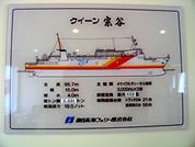 礼文島 船説明図