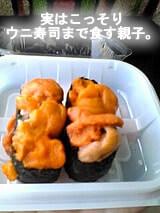 礼文島 ウニ寿司