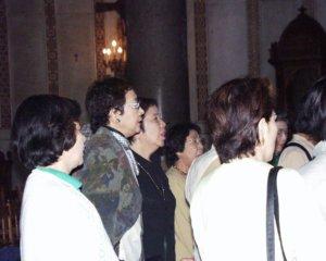 モンレアーレ大聖堂 合唱