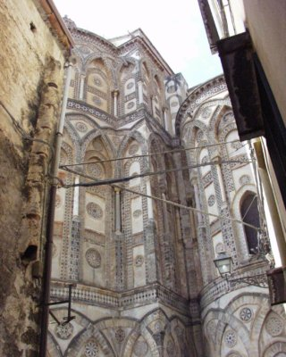 モンレアーレ大聖堂 外観