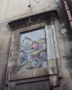 カルタジローネ 壁画