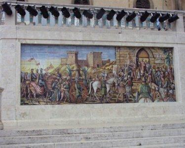 カルタジローネ 壁