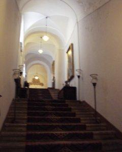 サンドメニコホテル 廊下