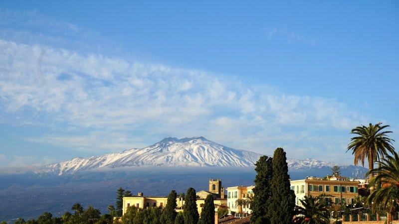 エトナ山 シチリア