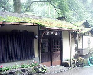 京都 貴船 古い家